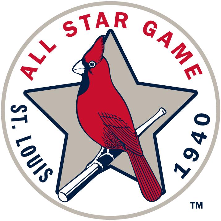 MLB All-Star Game Logo Misc Logo (1940) - 1940 MLB All-Star Game at Sportsman's Park in St. Louis, Missouri...............................................................Modern era themed logo SportsLogos.Net