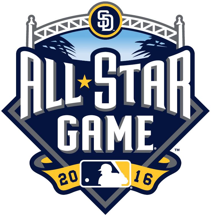 MLB All-Star Game Logo Primary Logo (2016) - 2016 MLB All-Star Game - San Diego, CA  SportsLogos.Net