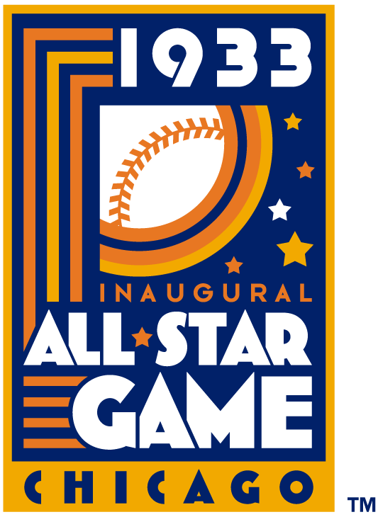 MLB All-Star Game Logo Misc Logo (1933) - 1933 MLB All-Star Game at Comiskey Park in Chicago, Illinois.................................................................Modern era themed logo SportsLogos.Net