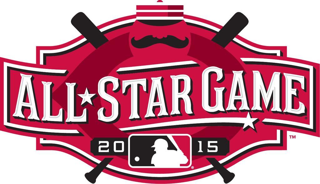 MLB All-Star Game Logo Primary Logo (2015) - 2015 MLB All-Star Game Logo - held in Cincinnati, Ohio SportsLogos.Net