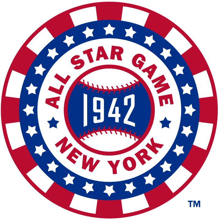 MLB All-Star Game Logo Misc Logo (1942) - 1942 MLB All-Star Game at Polo Grounds in New York, New York.....................................................................Modern era themed logo SportsLogos.Net