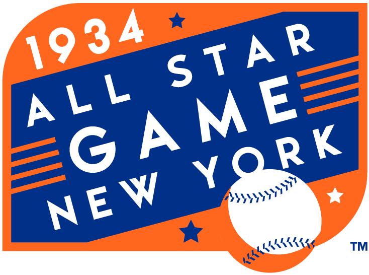 MLB All-Star Game Logo Misc Logo (1934) - 1934 MLB All-Star Game at Polo Grounds in New York, New York ........................................................................Modern era themed logo SportsLogos.Net