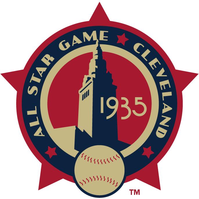 MLB All-Star Game Logo Misc Logo (1935) - 1935 MLB All-Star Game at Municipal Stadium in Cleveland, Ohio........................................................................Modern era themed logo. SportsLogos.Net