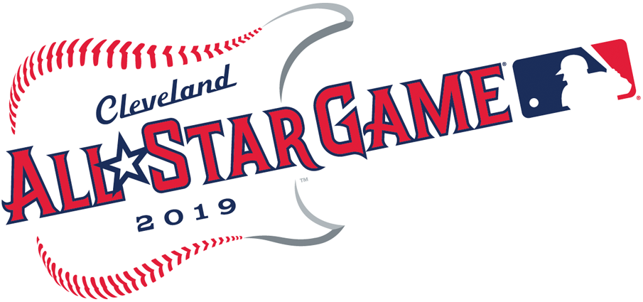 MLB All-Star Game Logo Primary Logo (2019) - 2019 MLB All-Star Game logo, game played in Cleveland, Ohio hosted by the Cleveland Indians SportsLogos.Net