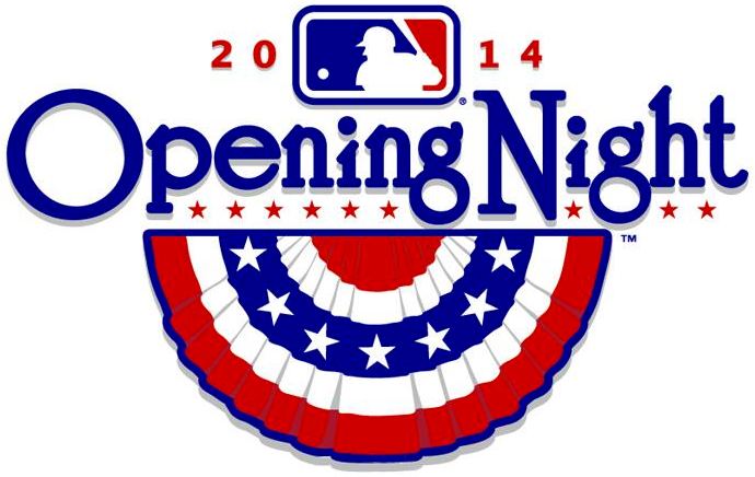 MLB Opening Day Special Event Logo (2014) - 2014 MLB Opening Night
