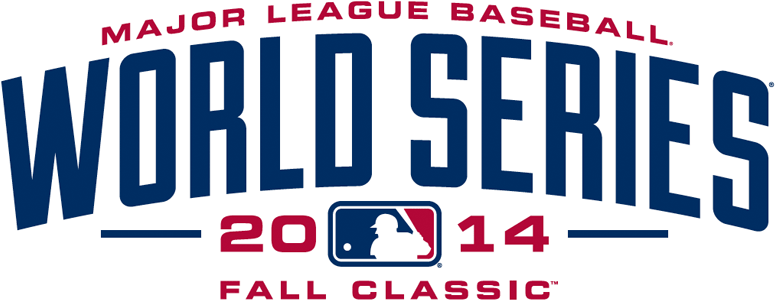 MLB World Series Logo Primary Logo (2014) - 2014 World Series Logo --