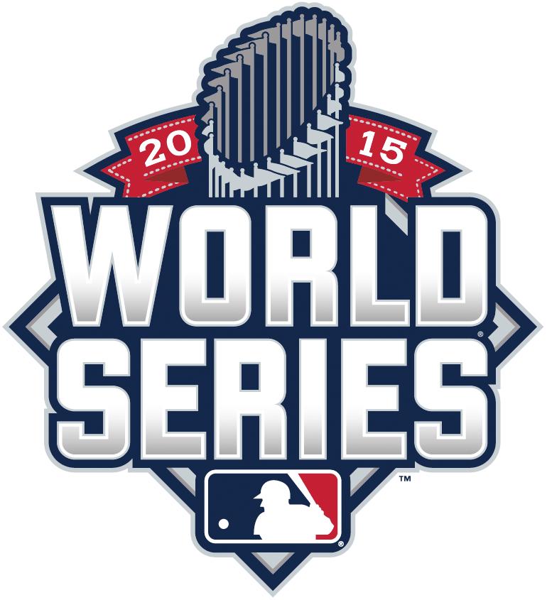 MLB World Series Logo Primary Logo (2015) - 2015 World Series Logo SportsLogos.Net