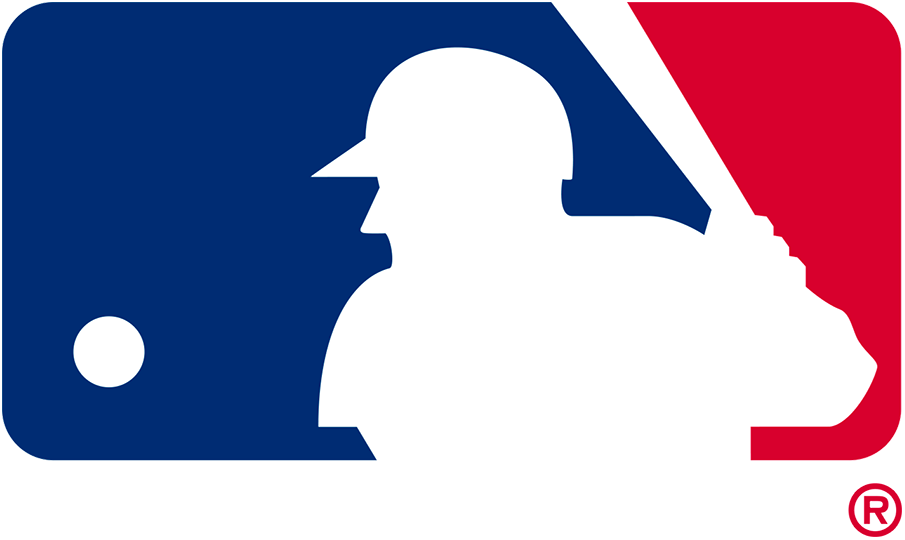 Major League Baseball Logo Alternate Logo (1992-2018) - MLB silhouetted batter logo with no wordmark below SportsLogos.Net