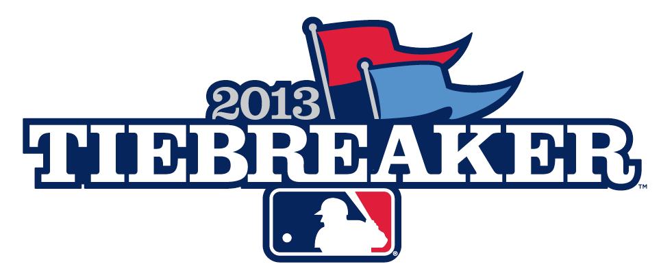 Major League Baseball Logo Special Event Logo (2013) - 2013 MLB Tiebreaker Game Logo SportsLogos.Net
