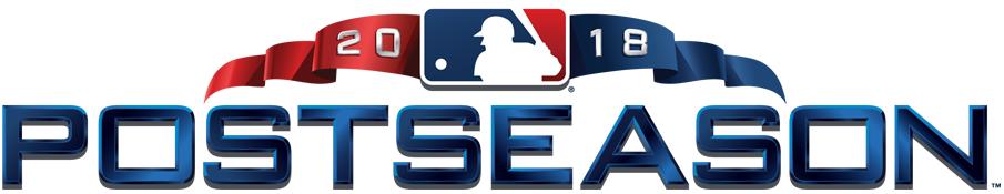 MLB Postseason Logo Primary Logo (2018) - 2018 MLB Postseason logo SportsLogos.Net