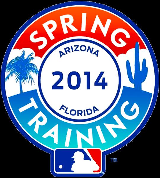 MLB Spring Training Logo Primary Logo (2014) - 2014 Spring Training logo SportsLogos.Net