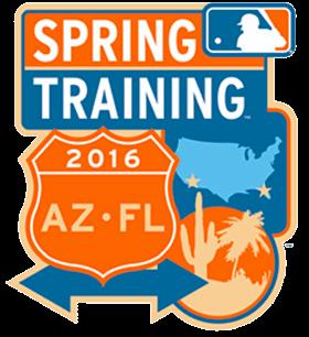 MLB Spring Training Logo Primary Logo (2016) - 2016 Spring Training logo SportsLogos.Net