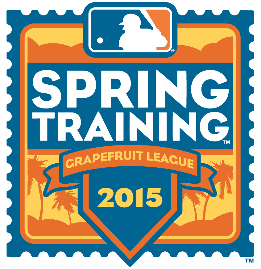 MLB Spring Training Logo Alternate Logo (2015) - 2015 Spring Training Grapefruit League Florida Logo SportsLogos.Net