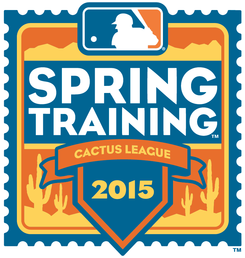 MLB Spring Training Logo Alternate Logo (2015) - 2015 Spring Training Cactus League Arizona Logo SportsLogos.Net