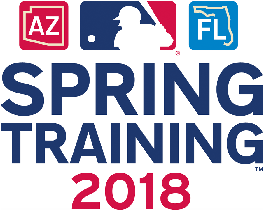 MLB Spring Training Logo Primary Logo (2018) - 2018 MLB Spring Training Logo SportsLogos.Net