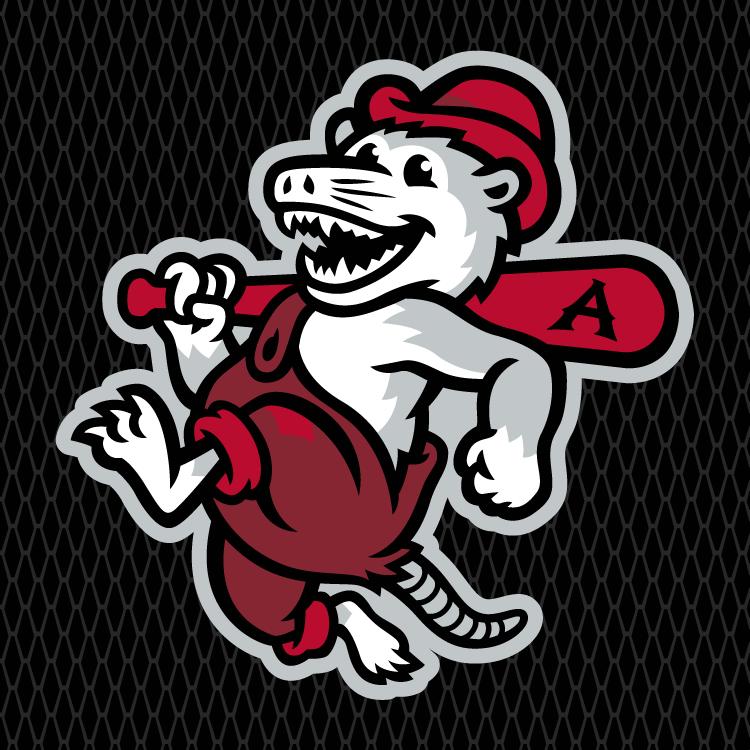 Arkansas Travelers Logo Cap Logo (2014-Pres) - Ball Practice cap mark SportsLogos.Net