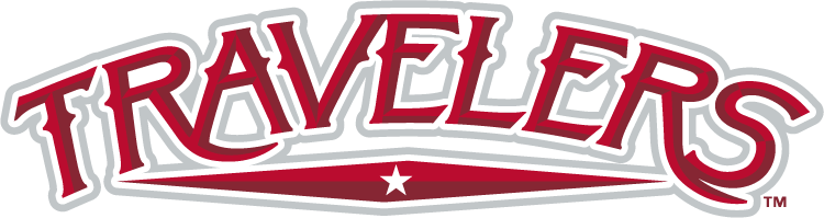 Arkansas Travelers Logo Wordmark Logo (2014-Pres) -  SportsLogos.Net