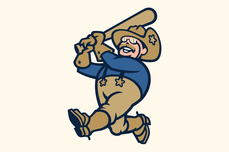 Frisco RoughRiders Logo Jersey Logo (2015-Pres) - Home jersey sleeve logo SportsLogos.Net