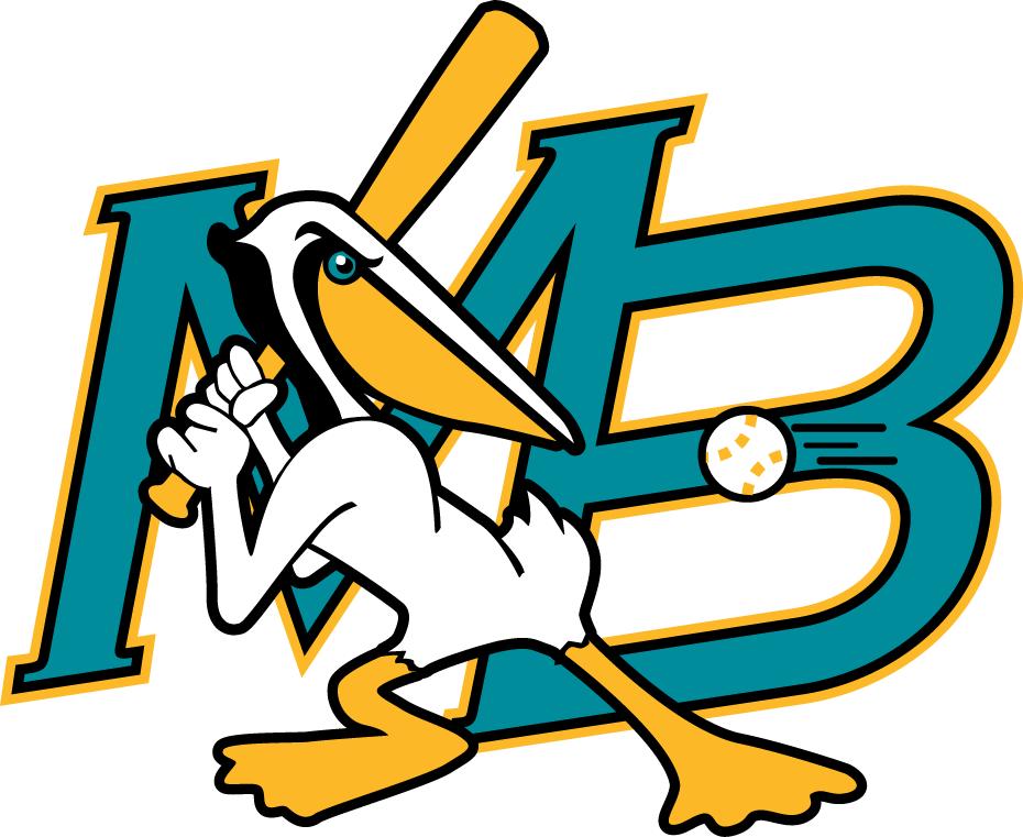 Myrtle Beach Pelicans Logo Primary Logo (1999-2006) -  SportsLogos.Net