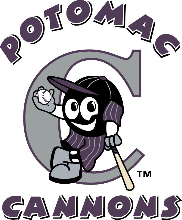 Potomac Cannons Logo Primary Logo (1999-2004) -  SportsLogos.Net