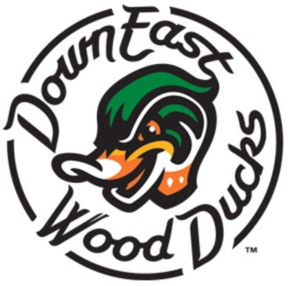 Down East Wood Ducks Logo Primary Logo (2017-Pres) -  SportsLogos.Net