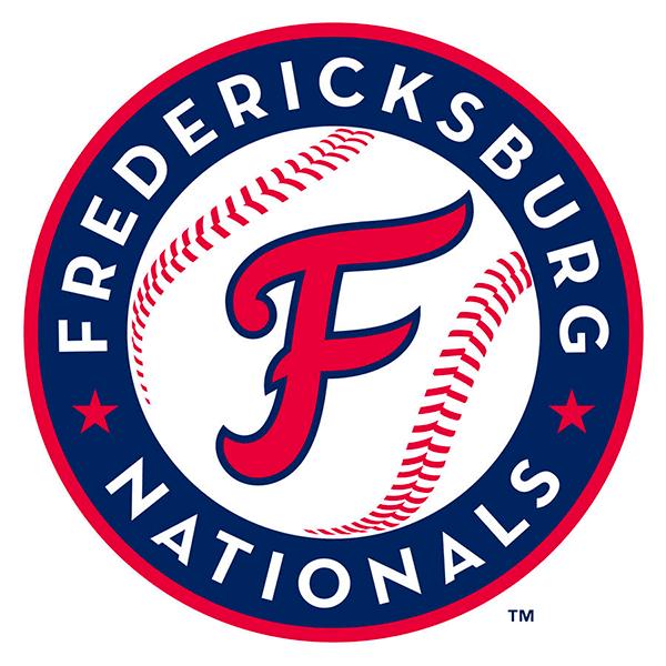 Fredericksburg Nationals Logo Primary Logo (2020-Pres) -  SportsLogos.Net