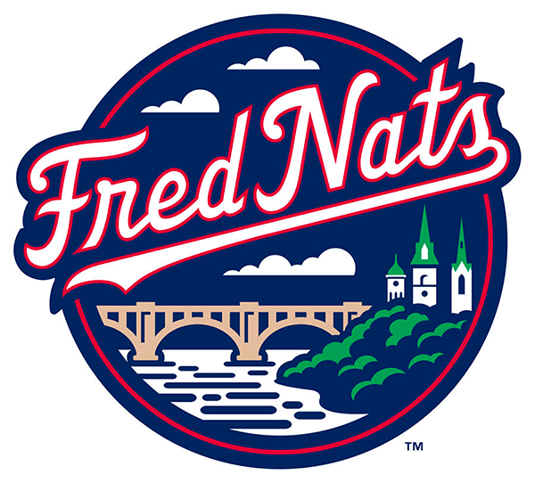 Fredericksburg Nationals Logo Alternate Logo (2020-Pres) -  SportsLogos.Net
