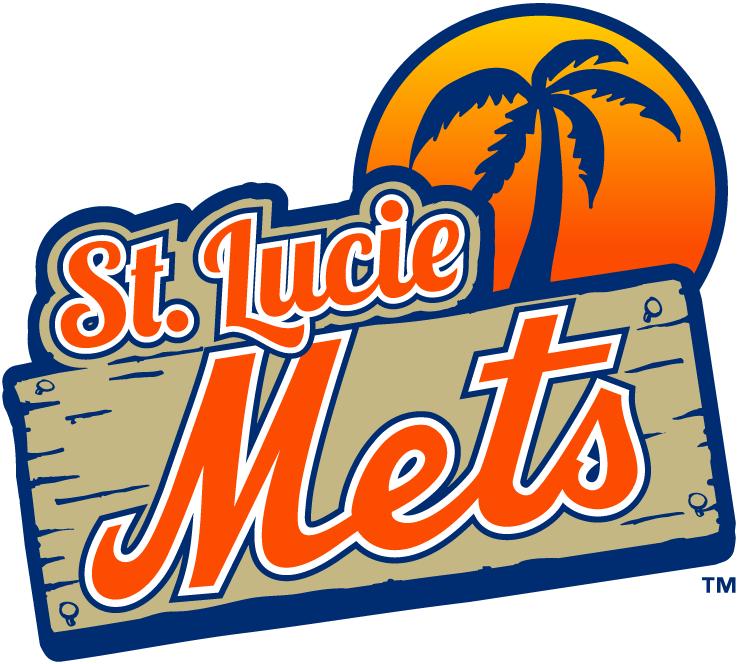 St. Lucie Mets Logo Primary Logo (2013-Pres) -  SportsLogos.Net
