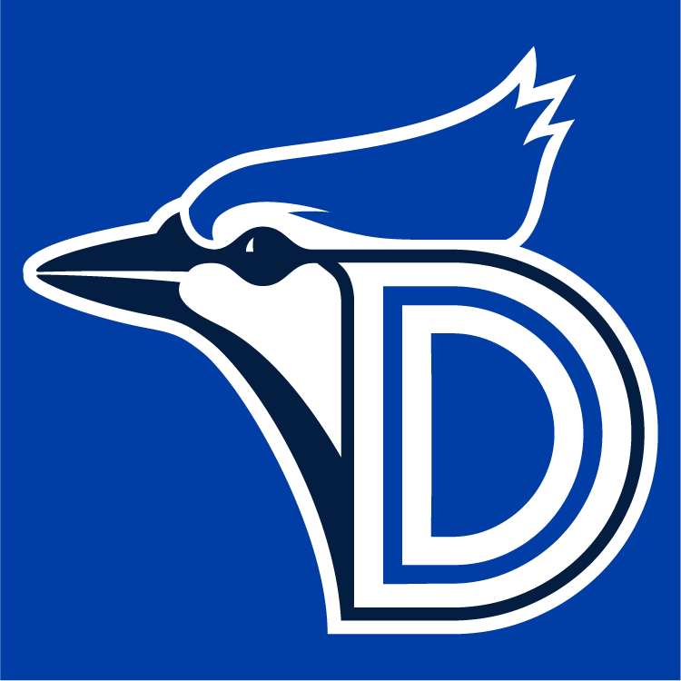 Dunedin Blue Jays Logo Cap Logo (2012-Pres) - Home, Road and batting practice cap logo SportsLogos.Net