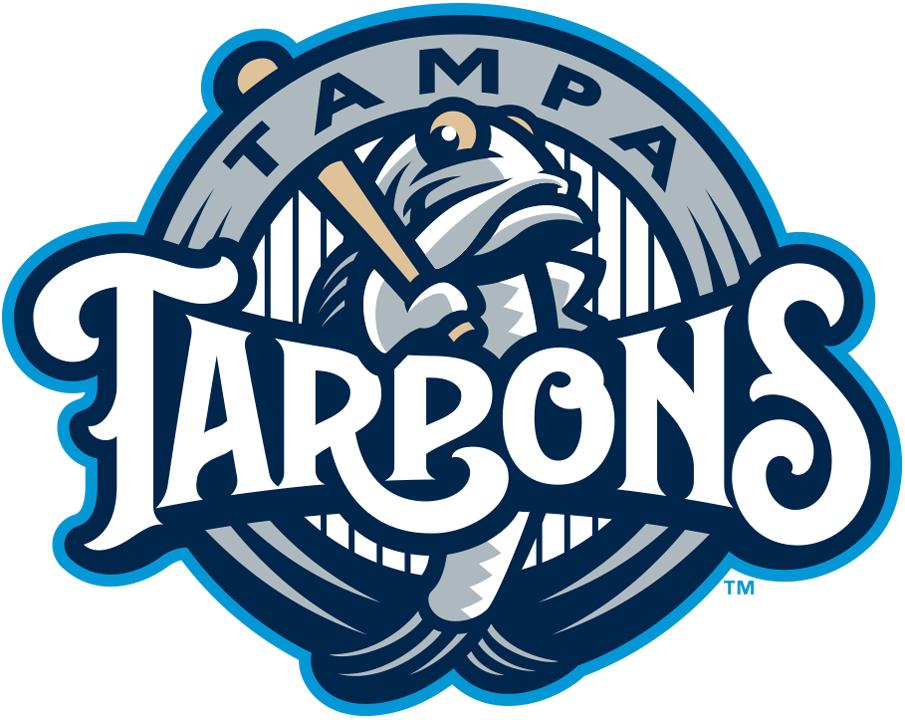 Tampa Tarpons Logo Primary Logo (2018-Pres) -  SportsLogos.Net