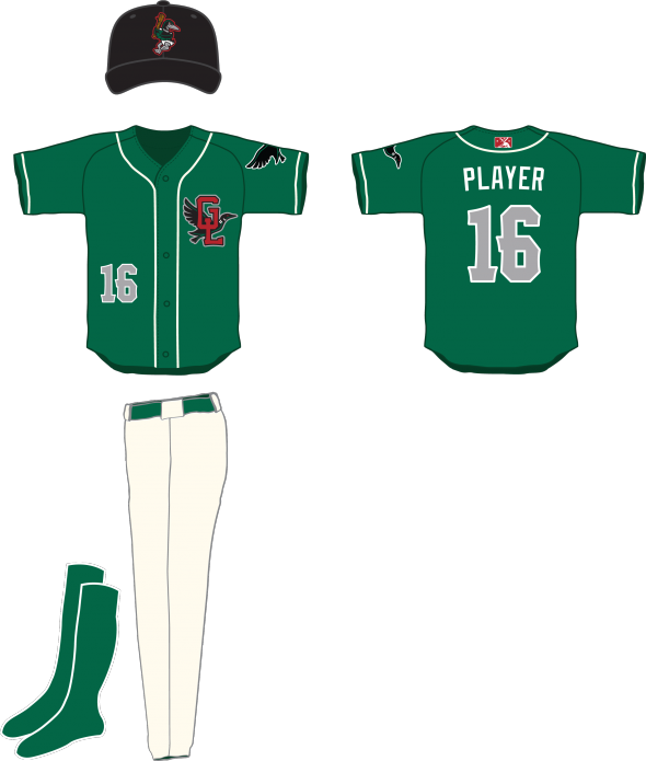 Great Lakes Loons Uniform Alternate Uniform (2016-Pres) -  SportsLogos.Net