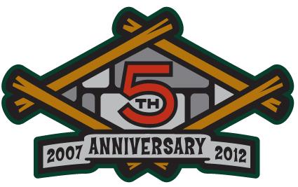 Great Lakes Loons Logo Anniversary Logo (2012) -  SportsLogos.Net
