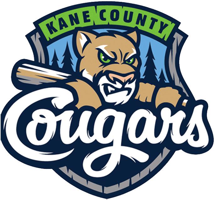 Kane County Cougars Logo Primary Logo (2016-2020) -  SportsLogos.Net