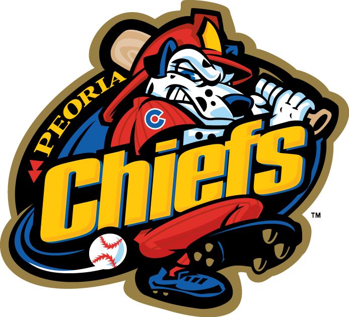 Peoria Chiefs Logo Primary Logo (2005-2012) -  SportsLogos.Net