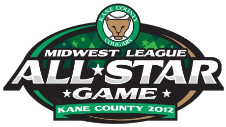 All-Star Game Logo Primary Logo (2012) - 2012 Midwest League All-Star Game - Kane County SportsLogos.Net