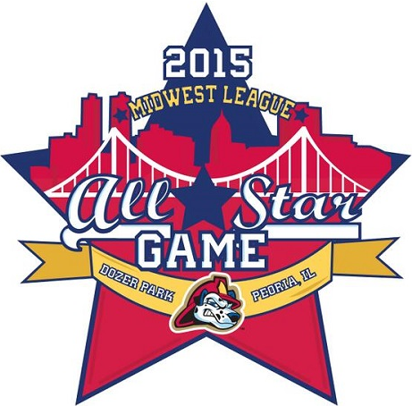All-Star Game Logo Primary Logo (2015) - Midwest League All-Star Game 2015 - Peoria, IL SportsLogos.Net