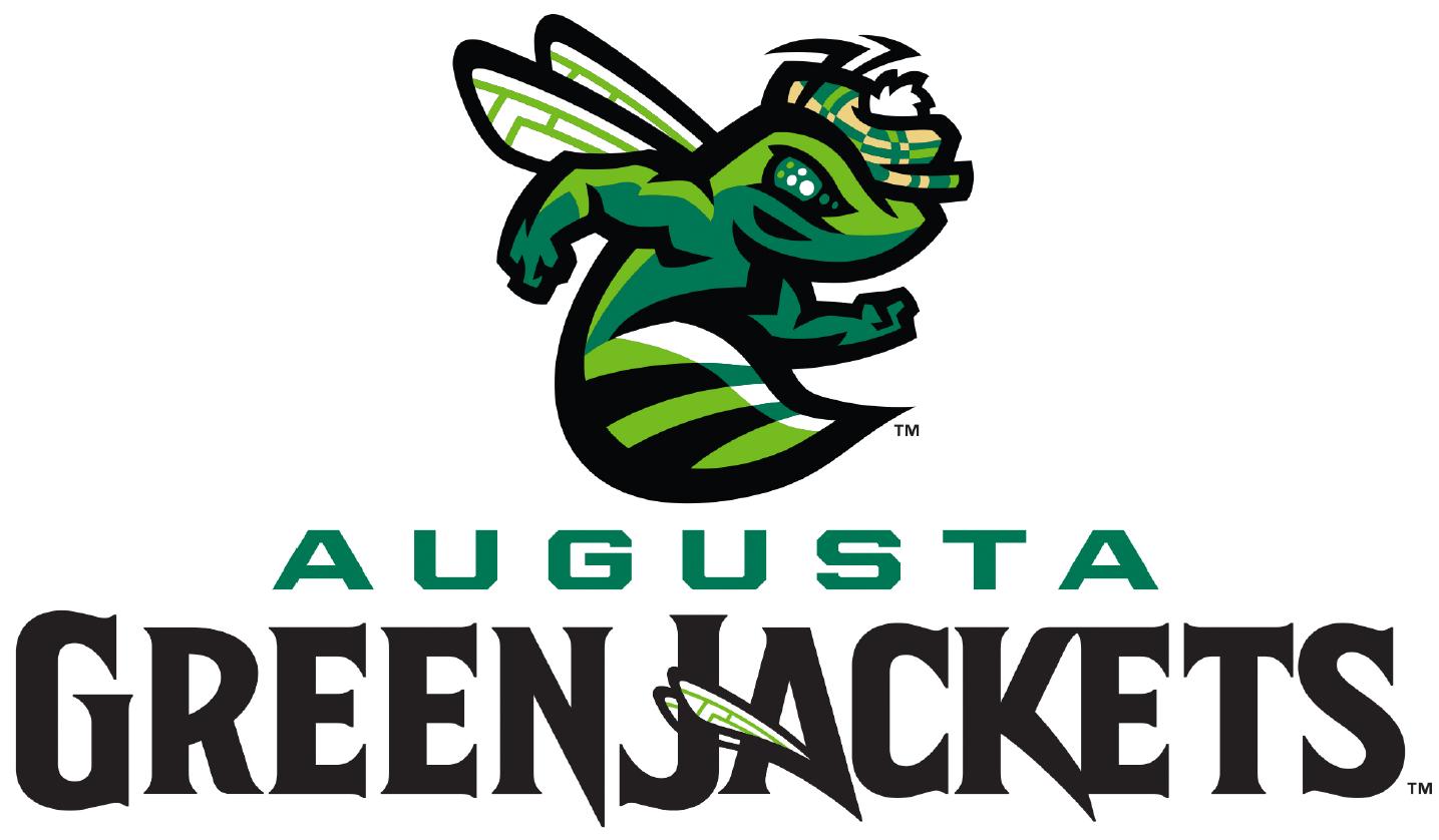 Augusta Greenjackets Logo Primary Logo (2018-Pres) -  SportsLogos.Net