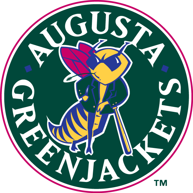 Augusta Greenjackets Logo Primary Logo (1994-2005) -  SportsLogos.Net