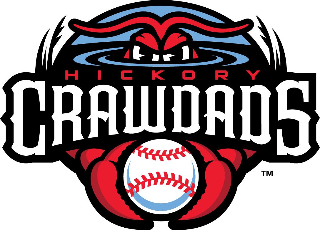 Hickory Crawdads Logo Primary Logo (2016-Pres) -  SportsLogos.Net