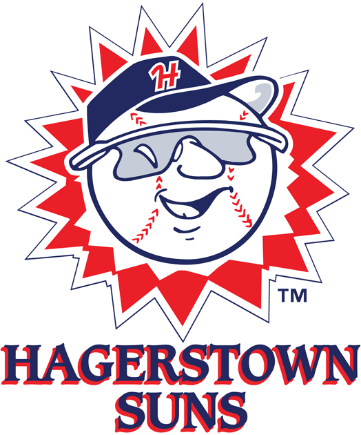 Hagerstown Suns Logo Primary Logo (2013-Pres) -  SportsLogos.Net