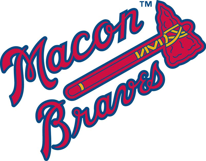 Macon Braves Logo Primary Logo (1991-2002) -  SportsLogos.Net