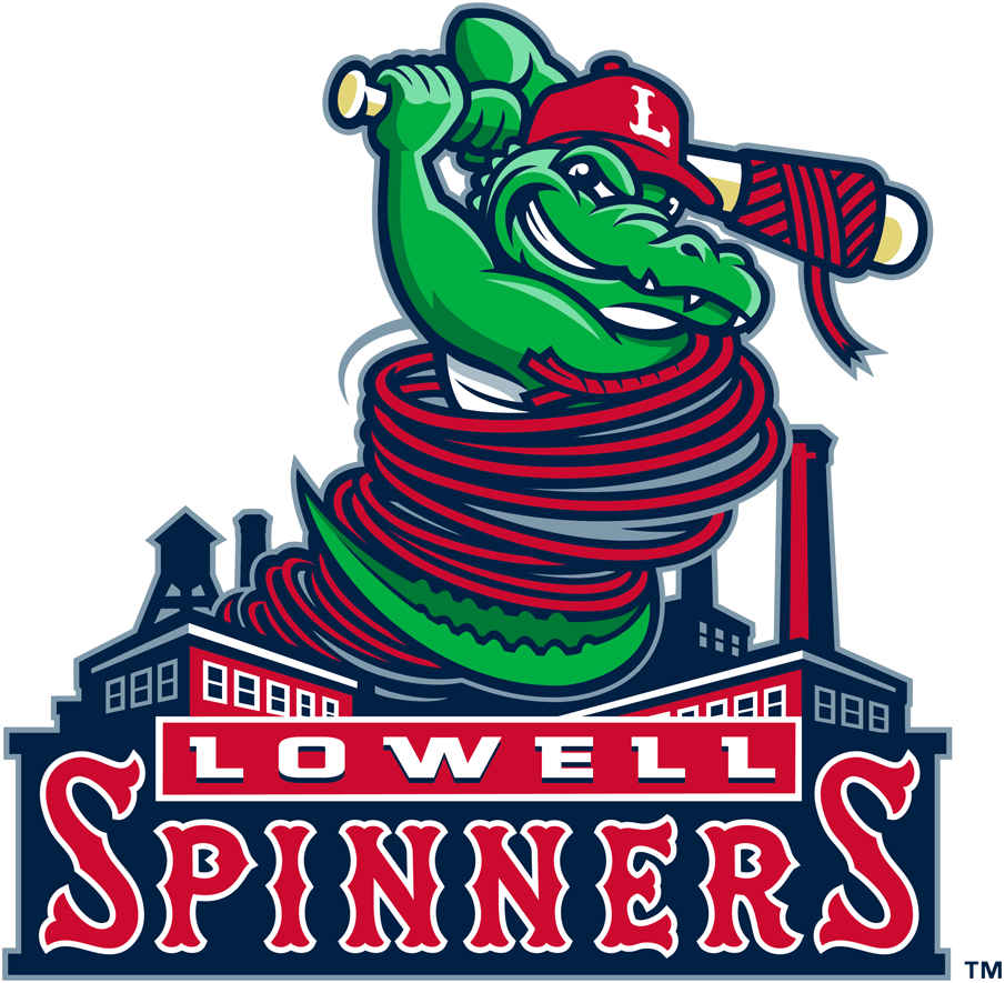 Lowell Spinners Logo Primary Logo (2017-Pres) -  SportsLogos.Net