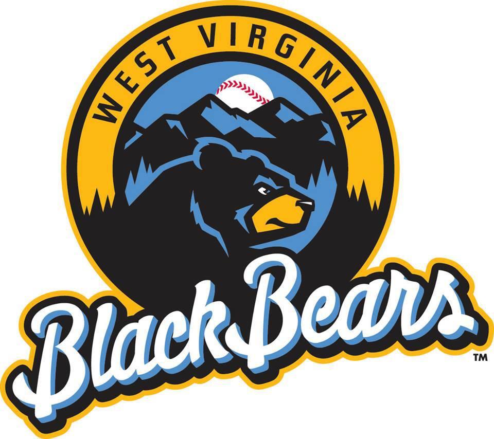 West Virginia Black Bears Logo Primary Logo (2015-Pres) -  SportsLogos.Net