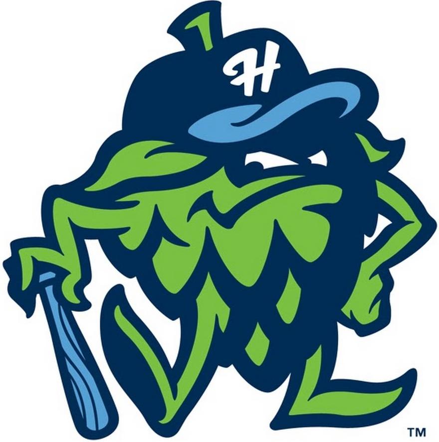 Hillsboro Hops Logo Alternate Logo (2013-Pres) -  SportsLogos.Net
