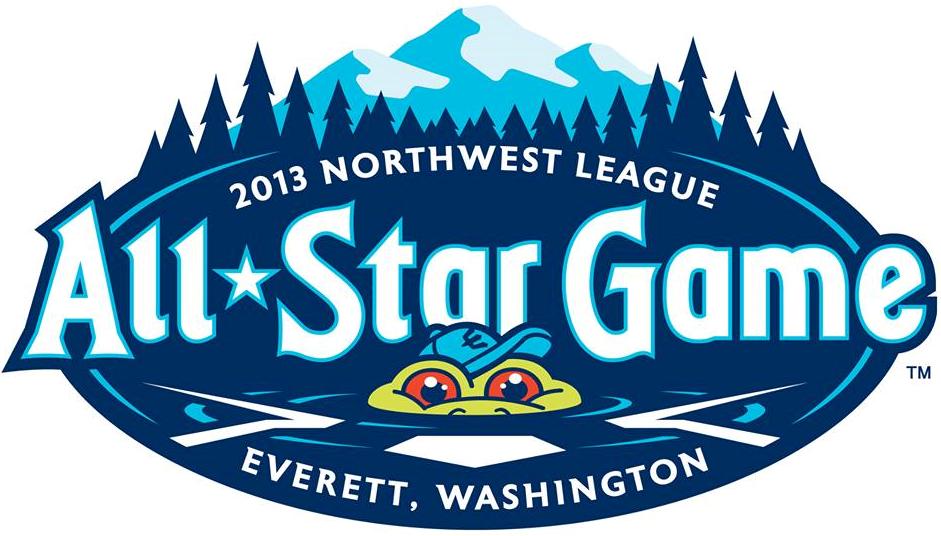 All-Star Game  Logo Primary Logo (2013) - 2013 Northwest League All-Star Game - Everett, Washington SportsLogos.Net