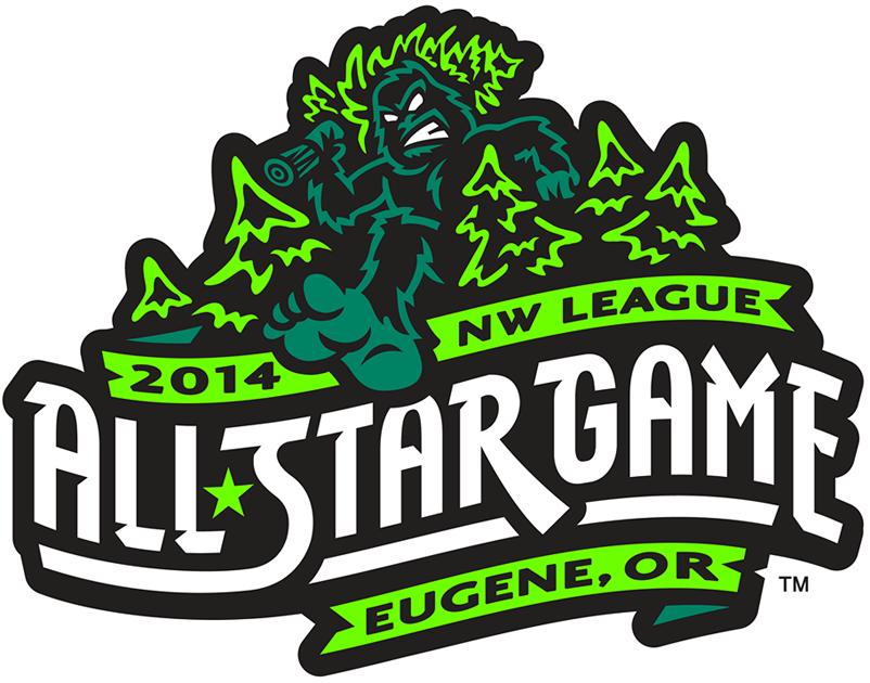 All-Star Game  Logo Primary Logo (2014) - 2014 Northwest League All-Star Game - Eugene, Oregon SportsLogos.Net