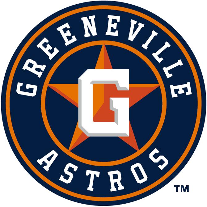 Greeneville Astros Logo Primary Logo (2013-2017) -  SportsLogos.Net