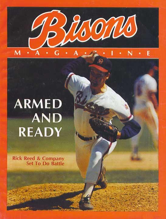 Buffalo Bisons Program Program (1989) - Buffalo Bisons 1989 Game Program SportsLogos.Net