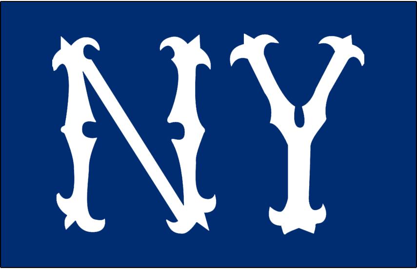 New York Highlanders Jersey Logo American League Al