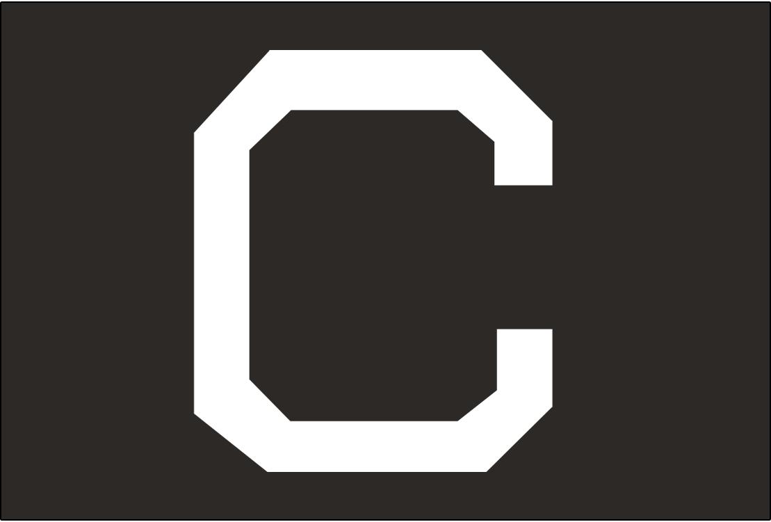 Cleveland Naps Logo Cap Logo (1910-1912) - A white C on black, worn on the Naps road caps from 1910-12 SportsLogos.Net